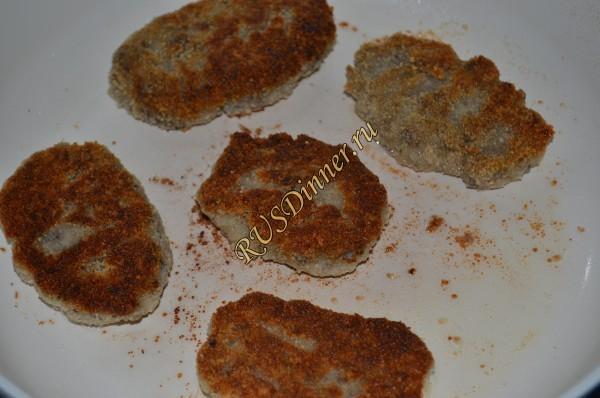 Как приготовить грибные котлеты рецепт