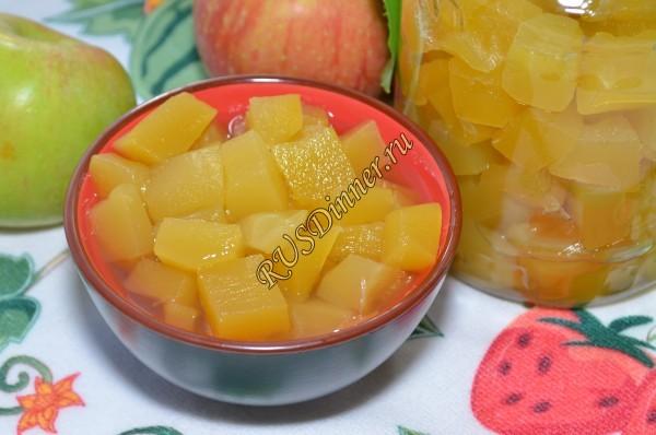 Кабачки со вкусом ананаса