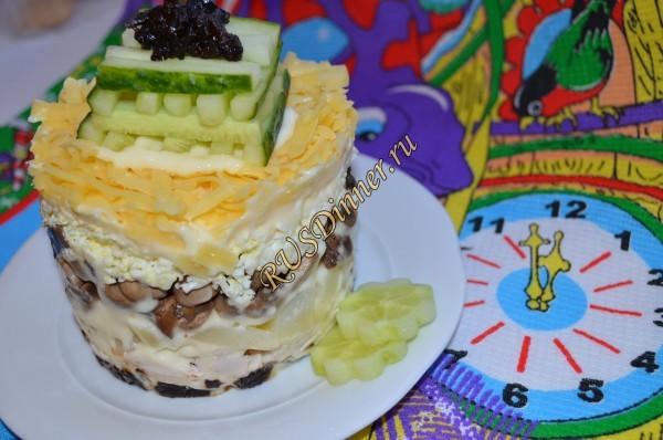 Новогодний салат «Венеция»