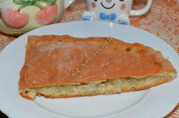 Пирог из щуки