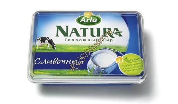 Творожный сыр Natura