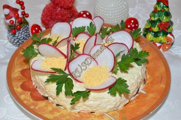 Салат «Букет»