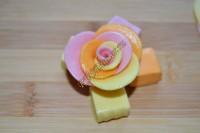 Как сделать розочки из конфет Фруттелла?