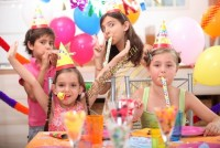 Праздничный стол на детский день рождения