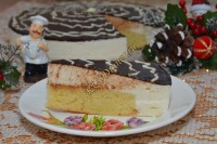 Торт–суфле «Птичье молоко»