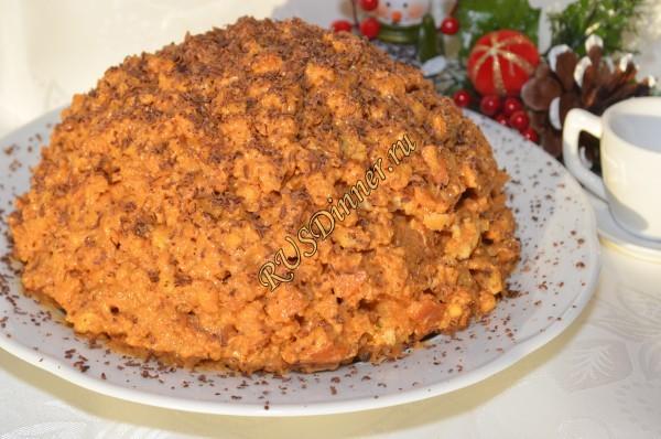 Торт «Муравейник» классический