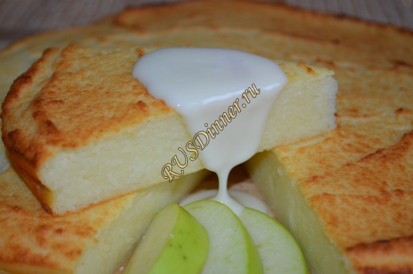 рецепты творожных запеканок с сгущенным молоком с фотографиями